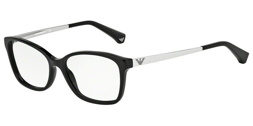 Emporio Armani EA3026 5017 BLACK Specs at Home