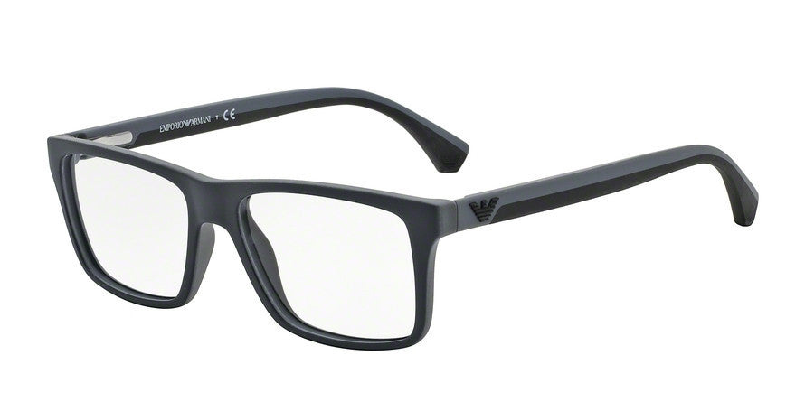 Emporio Armani EA3034 5229 BLACK/RUBBER GREY Specs at Home