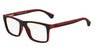 Emporio Armani EA3034 5324 BLACK/RED RUBBER Specs at Home