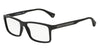 Emporio Armani EA3038 5063 BLACK RUBBER Specs at Home