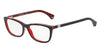 Emporio Armani EA3052 5352 BLUE/WHITE LINE/RED Specs at Home