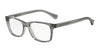 Emporio Armani EA3064 5372 TRANSPARENT GREY Specs at Home