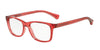 Emporio Armani EA3064 5377 TRANSPARENT CORAL Specs at Home