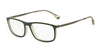 Emporio Armani EA3070 5470 MATTE GREEN/GREY TRANSP Specs at Home