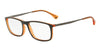 Emporio Armani EA3070 5530 MATTE BLACK/ORANGE TRANSP Specs at Home