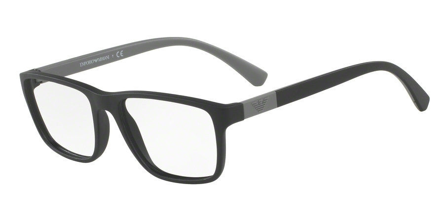 Emporio Armani EA3091 5042 MATTE BLACK Specs at Home