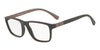 Emporio Armani EA3091 5509 MATTE BROWN Specs at Home