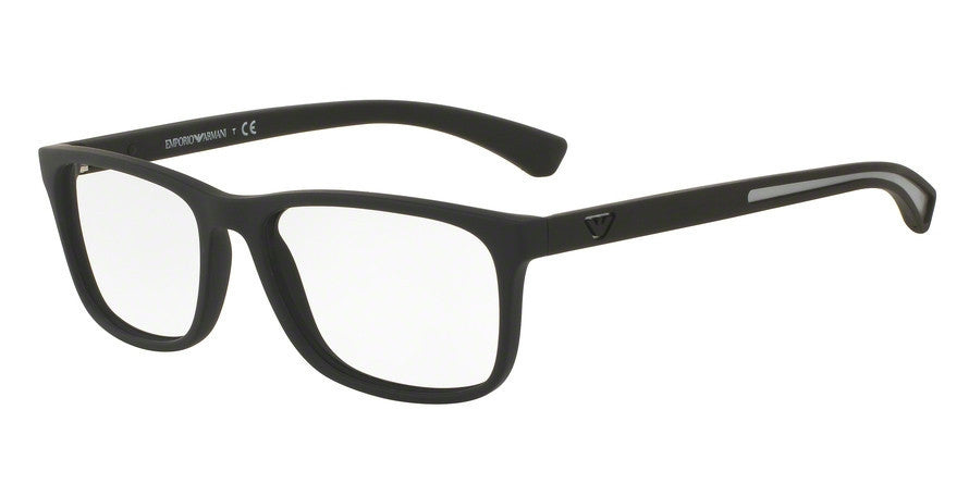 Emporio Armani EA3092 5063 BLACK RUBBER Specs at Home