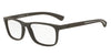 Emporio Armani EA3092 5305 BROWN RUBBER Specs at Home