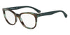 Emporio Armani EA3105 5388 STRIPED GREEN Specs at Home