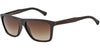 Emporio Armani EA4001 506413 BROWN RUBBER Specs at Home