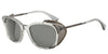 Emporio Armani EA4028Z 515387 TRANSPARENT GREY Specs at Home