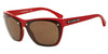 Emporio Armani EA4059 547673 TOP RED TRANSPARENT ON RED Specs at Home