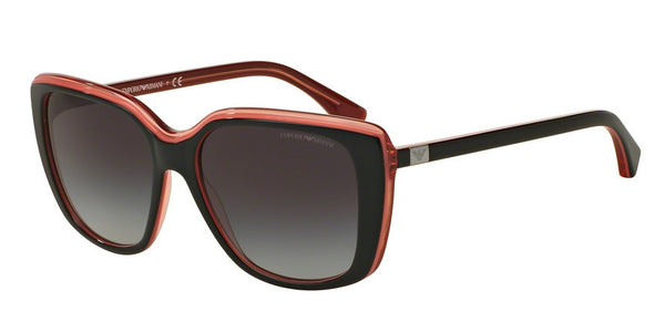 Emporio Armani EA4069 55148G TOP BLACK/OPAL CORAL/CORAL TR Specs at Home