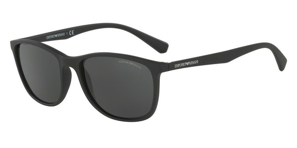 Emporio Armani EA4074 504287 MATTE BLACK Specs at Home