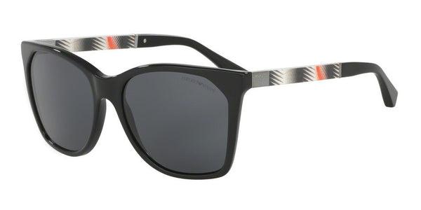 Emporio Armani EA4075 501787 BLACK Specs at Home