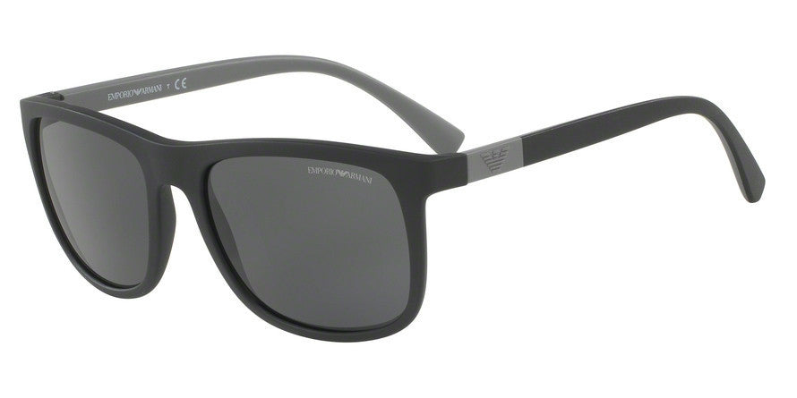 Emporio Armani EA4079 504287 MATTE BLACK Specs at Home