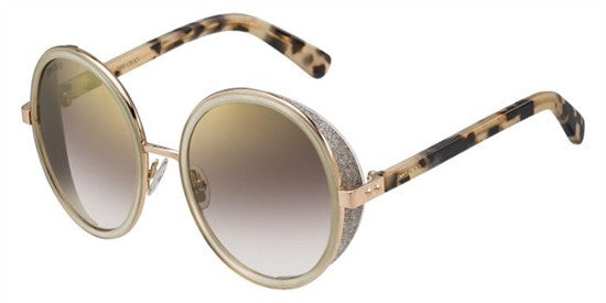 Jimmy Choo ANDIE J7A (NH) - GDNUD HVN - Lens Colour (BROWN MS GLD) Specs at Home