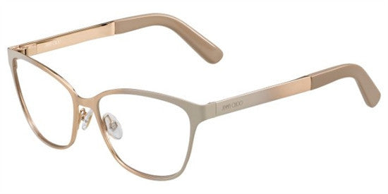 Jimmy Choo JC123 224 - NUDE GOLD Specs at Home