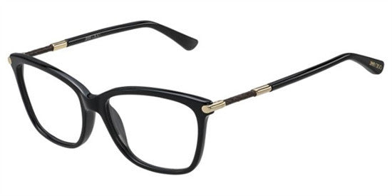 Jimmy Choo JC133 29A - SHN BLACK Specs at Home