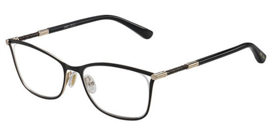 Jimmy Choo JC134 J6H - BK ROSEGD Specs at Home