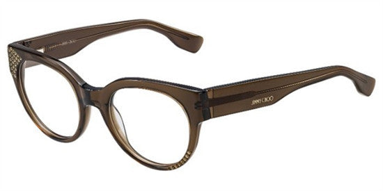 Jimmy Choo JC136 3M0 - BROWN TR Specs at Home