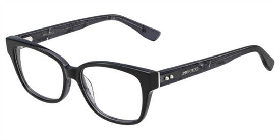 Jimmy Choo JC137 J3L - BLK SPTTD Specs at Home