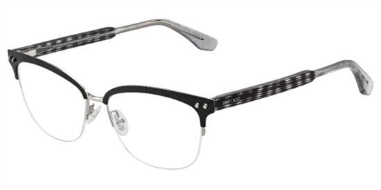 Jimmy Choo JC138 LY9 - BKPLDGREY Specs at Home