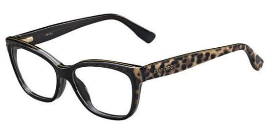 Jimmy Choo JC146 PUE - ANIMAL BK Specs at Home