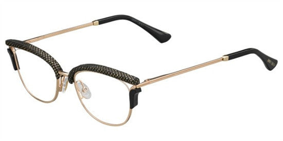 Jimmy Choo JC169 PSW - GDBK MTLZ Specs at Home