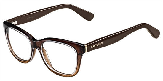 Jimmy Choo JC87 2PI - BRWGL BRW Specs at Home