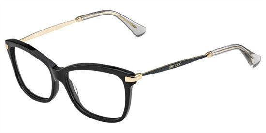 Jimmy Choo JC96 7VH - BLK GLTTR Specs at Home