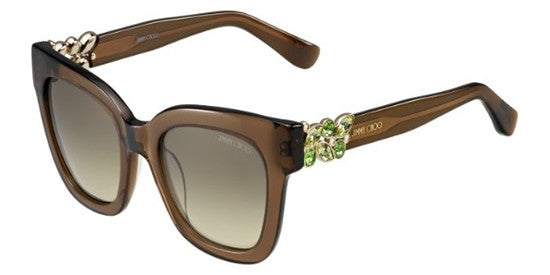 Jimmy Choo MAGGIE A2K (6P) - TRN BROWN (BROWN FL GOLD) Specs at Home