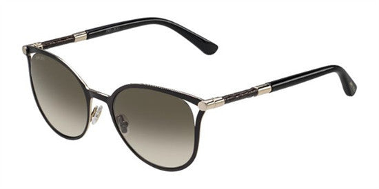 Jimmy Choo NEIZA J6H (HA) - BK ROSEGD - Lens Colour (BROWN SF) Specs at Home