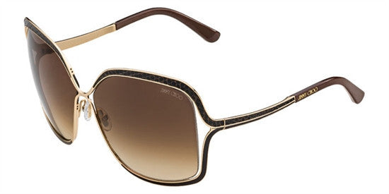 Jimmy Choo SALLY 000 (JD) - ROSE GOLD (BROWN SF) Specs at Home