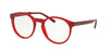 POLO PH2157 5458 SHINY CRISTAL RED Specs at Home