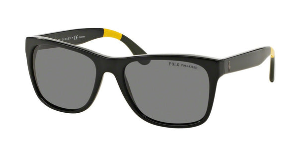 POLO PH4106 556781 SHINY BLACK (Polarized) Specs at Home