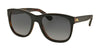 RALPH LAUREN RL8141 5260T3 TOP BLACK/JERRY HAVANA (Polarized) Specs at Home