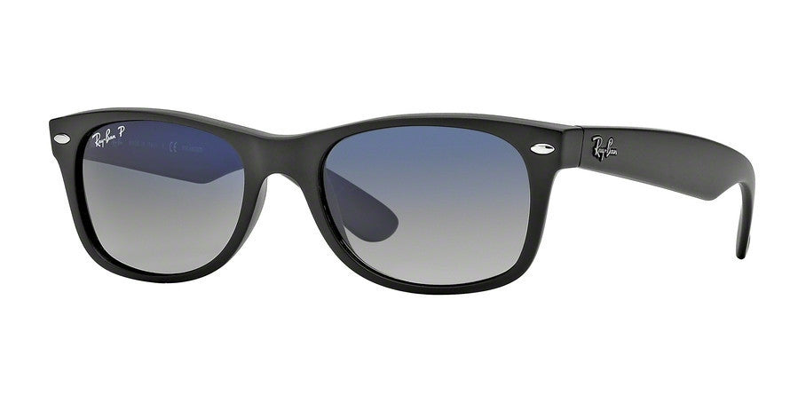 RayBan RB2132 601S78 MATTE BLACK (Polarized) Specs at Home