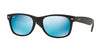 RayBan RB2132 622/17 RUBBER BLACK Specs at Home