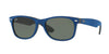 RayBan RB2132 6239 BLACK/TOP BLUE ALCANTARA Specs at Home