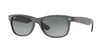RayBan RB2132 624171 BLACK/TOP GREY ALCANTARA Specs at Home