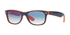 RayBan RB2132 789/3F TOP BLUE-ORANGE Specs at Home