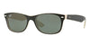 RayBan RB2132 875 TOP BLACK ON BEIGE Specs at Home