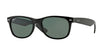 RayBan RB2132 901/58 BLACK (Polarized) Specs at Home