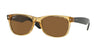 RayBan RB2132 945/57 HONEY (Polarized) Specs at Home