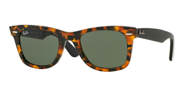 RayBan RB2140 1157 SPOTTED BLACK HAVANA Specs at Home