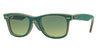 RayBan RB2140 11663M JEANS GREEN Specs at Home