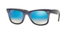 RayBan RB2140 11984O TOP GRAD GREY ON BLUE Specs at Home