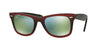 RayBan RB2140 12022X TOP GRAD RED ON LIGHT RED Specs at Home